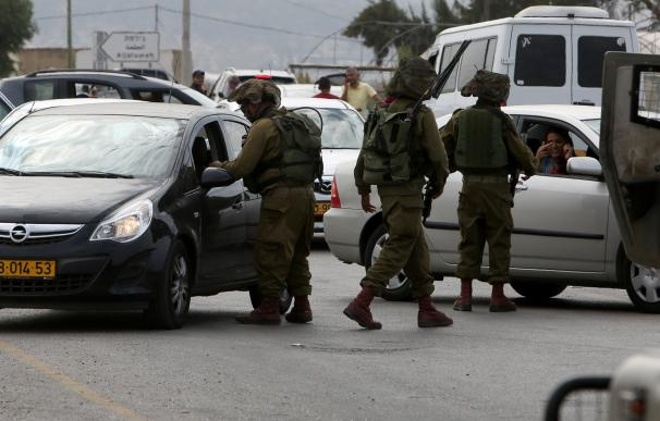 En un control militar israelí
