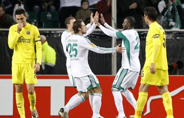 El Villarreal se despide de Europa por sus propios errores
