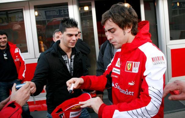 Alonso firma el quinto mejor tiempo en la matinal de Montmeló