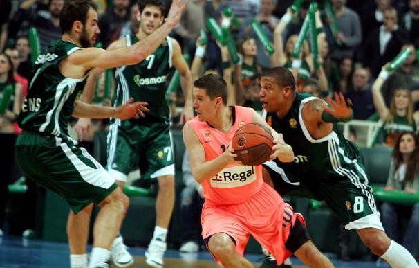 67-70. El Barcelona vence en Atenas y elimina al vigente campeón de la Euroliga