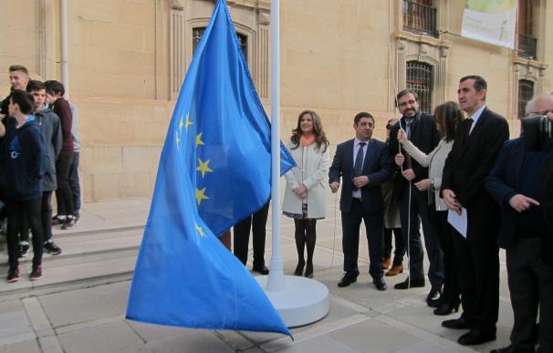 Diputación conmemora el 60º aniversario de los Tratados de Roma subrayando los valores de la UE