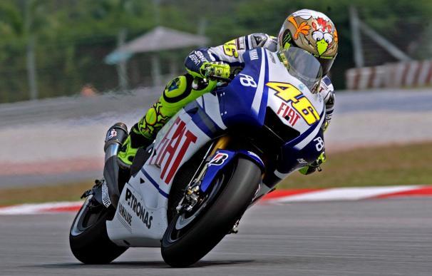 Rossi está satisfecho por ser tan rápido a estas alturas del año