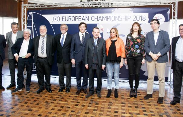 """Lete destaca que el Europeo J70 de vela es """"una oportunidad"""" para Vigo"""