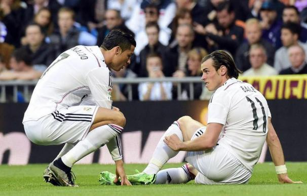 Bale se lesiona en el gemelo