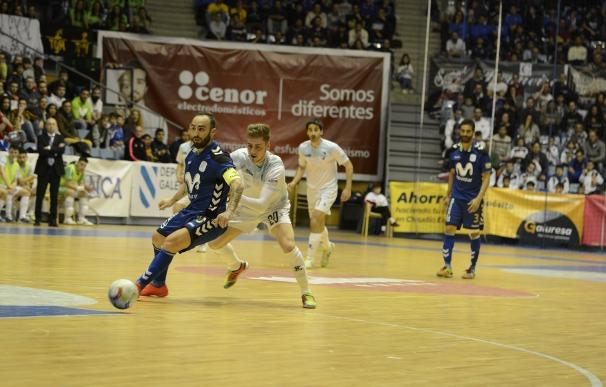 (Crónica) Movistar Inter sigue líder tras golear a domicilio al Santiago Futsal