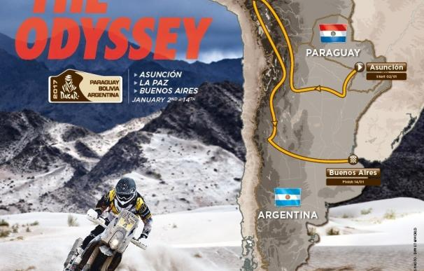 El Dakar 2017 reducirá kilómetros de enlace e introducirá una etapa especial de 700 kilómetros