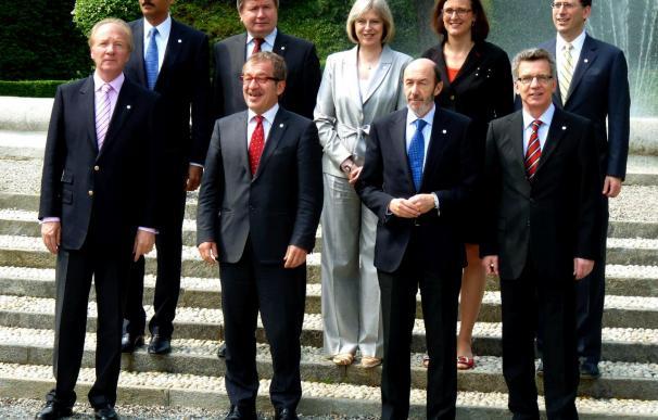 El crimen organizado y el terrorismo cierran el G6 europeo de Interior