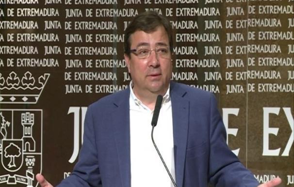"""La Junta de Extremadura sigue hablando con Hacienda para que las retenciones de fondos """"no se produzcan o sean mínimas"""""""