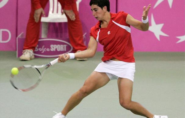 Carla Suárez cae en la primera ronda de Roland Garros ante la bielorrusa Olga Govortsova