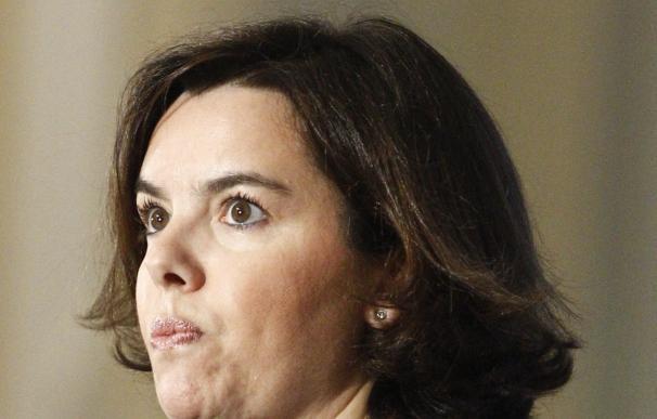 """Santamaría defiende que """"todos"""" se comprometan a """"respetar"""" que gobierne el más votado"""