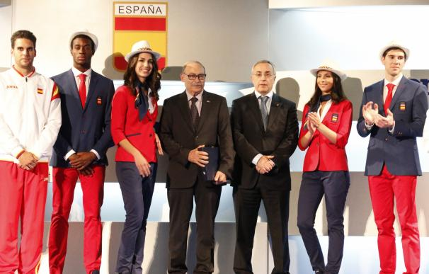Las olímpicas españolas vestirán por vez primera con pantalón en la ceremonia de inauguración