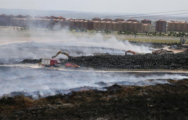 Ecologistas exige que se hagan públicos los datos de los contaminantes más tóxicos del incendio de Seseña