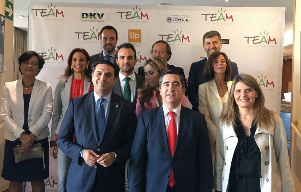 Fernández respalda la presentación de la asociación Talento y Empresa Andaluza en Madrid (TEAM)