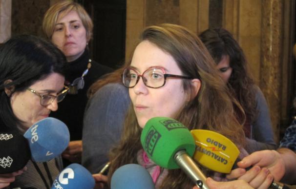 """Reguant (CUP) lamenta que hay 100 manifestantes heridos en Gràcia """"no contabilizados"""""""
