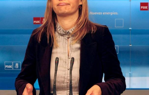 Leire Pajín confía en que el PP no ponga más en duda la lucha del Gobierno contra ETA