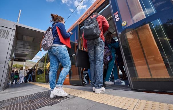 El tranvía de Tenerife supera los 118 millones de pasajeros tras nueve años de servicio