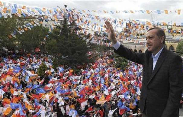 Ataque contra la policía turca tras un mitin de Erdogan