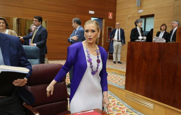 """PP de Madrid estudia denunciar el """"tiro a la diana"""" con caras de populares en Móstoles por ser """"incitación al odio"""""""