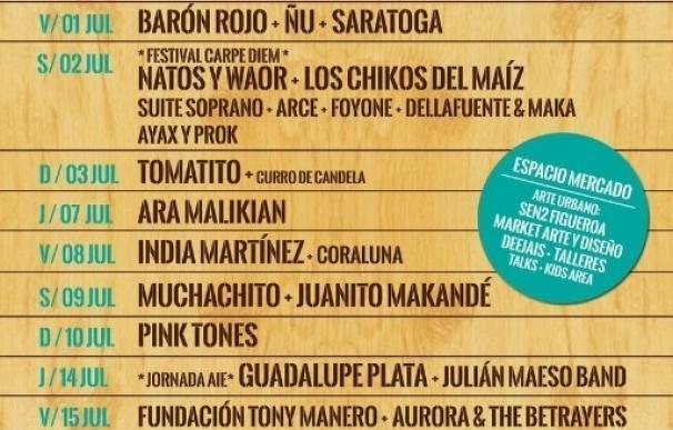 Fundación Tony Manero, Guadalupe Plata, Aurora & The Betrayers y Pink Tones completan el Cultura Inquieta