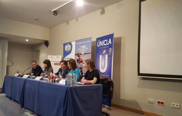 José Ramón Lete preside la presentación del reto deportivo Mujeres Españolas en Groenlandia 2017