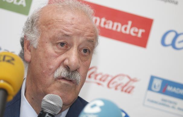 """Del Bosque: """"Hemos tratado de equilibrar la plantilla"""""""
