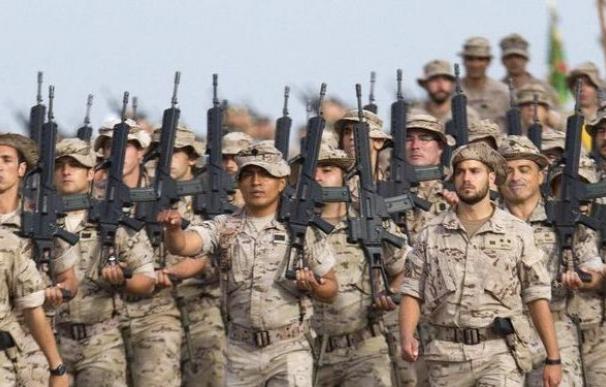 Las solicitudes para ingresar al Ejército español superan las decenas de miles en los últimos años.