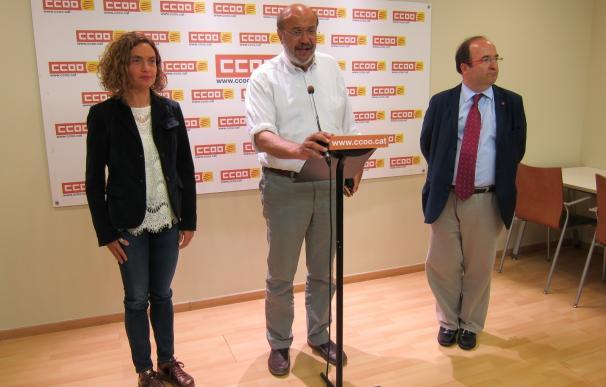 """El PSC: reconocer la singularidad de Catalunya no rompe la """"igualdad"""" de los españoles"""