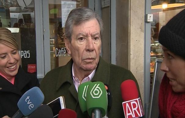 Corcuera dice que Sánchez deberá dimitir si Unidos Podemos supera a PSOE en votos y escaños