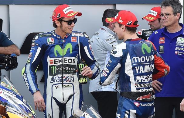 La sanción a Rossi le abre las puertas del título a Jorge Lorenzo