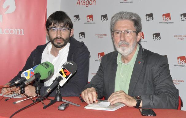 """Barrena dice que Unidos Podemos """"sale a ganar"""" y que """"en Aragón hay mucho voto de izquierdas"""""""