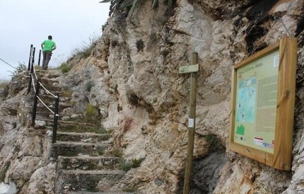 Carratraca se incorpora a las rutas de la Gran Senda en la etapa entre El Chorro y Ardales