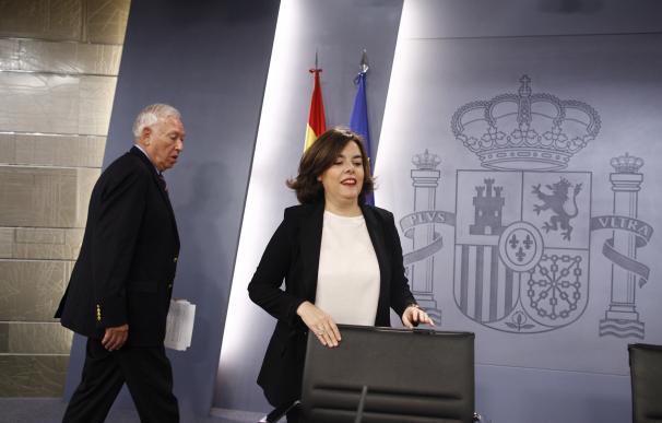 Margallo defiende el referéndum revocatorio en Venezuela para darle la palabra al pueblo