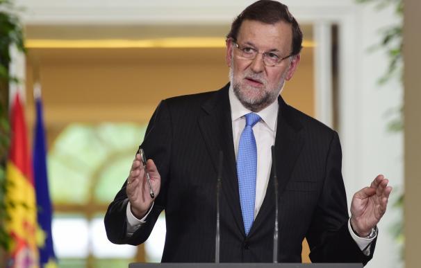 Rajoy, en la comparecencia para hacer balance de legislatura.
