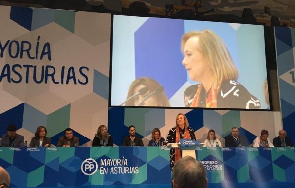 """Mercedes Fernández encara su reelección al frente de un PP que """"sale de su ensimismamiento"""" para gobernar Asturias"""