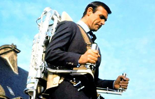 James Bond utilizó un jet-pack en 'Operación Trueno'