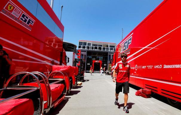 Ferrari afronta en Turquía su carrera 800 en la Fórmula Uno