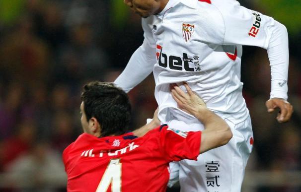 Luis Fabiano y Capel, lesionados, no viajan con el Sevilla a Moscú para el partido contra el CSKA
