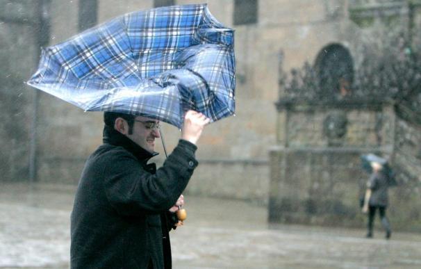 Galicia, con alerta importante por viento que podría alcanzar los 100 km/h