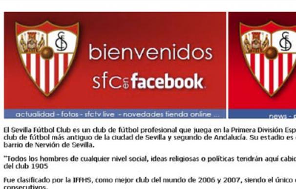 El Sevilla también está en Facebook
