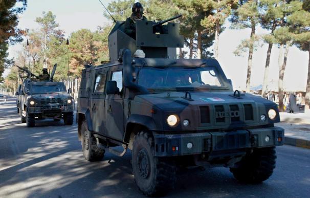 Soldados de la OTAN patrullando en Afganistán