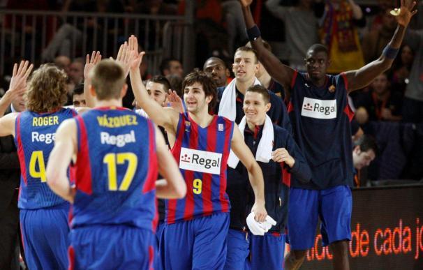 80-61. El Barcelona se proclama campeón de Copa tras humillar al Madrid