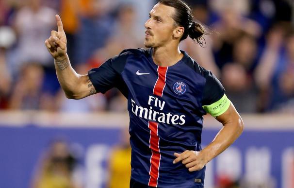 Zlatan Ibrahimovic finaliza contrato con el PSG en 2016. / AFP