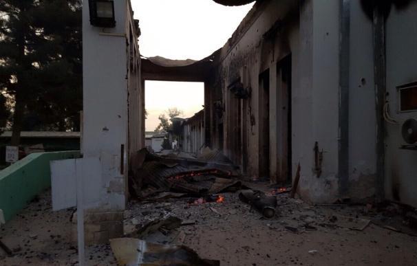Afganistán.- Al menos 19 muertos en el bombardeo del hospital de MSF en Kunduz, según el último balance