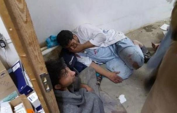 Un bombardeo de EE UU alcanza un hospital de MSF en Kunduz
