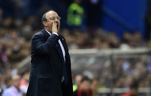 Rafa Benítez debutó como entrenador del Madrid en un derbi con empate.