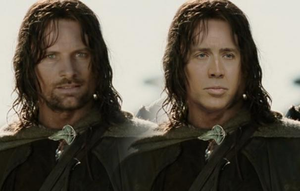 Nicolas Cage rechazó el papel de Aragorn ('El Señor de los Anillos')