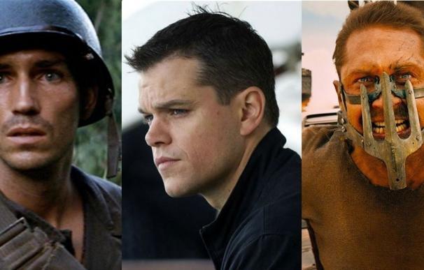 'La delgada línea roja', 'El caso Bourne' y 'Mad Max: Furia en la carretera'
