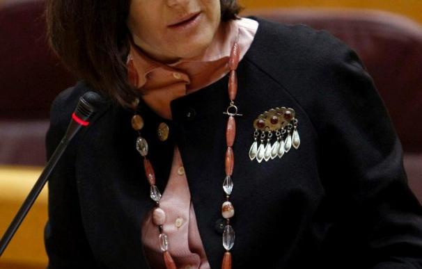 La ministra española de Cultura desarrolla programa en Argentina tras su frustrado viaje a Chile