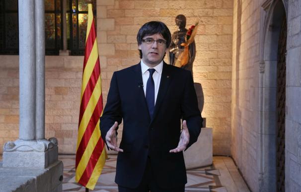 """Puigdemont: """"Todo esto terminará con un estado catalán independiente dentro de la UE"""""""