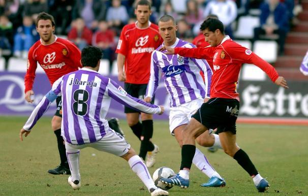 1-2. El Mallorca suma su segundo triunfo fuera ante un angustiado Valladolid